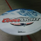 Coors Beer Table Wrap with Adhesive Vinyl