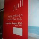 Retail Adhesive Vinyl Graphic for J Jill