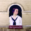 Sally Mural at Worcester Art Museum