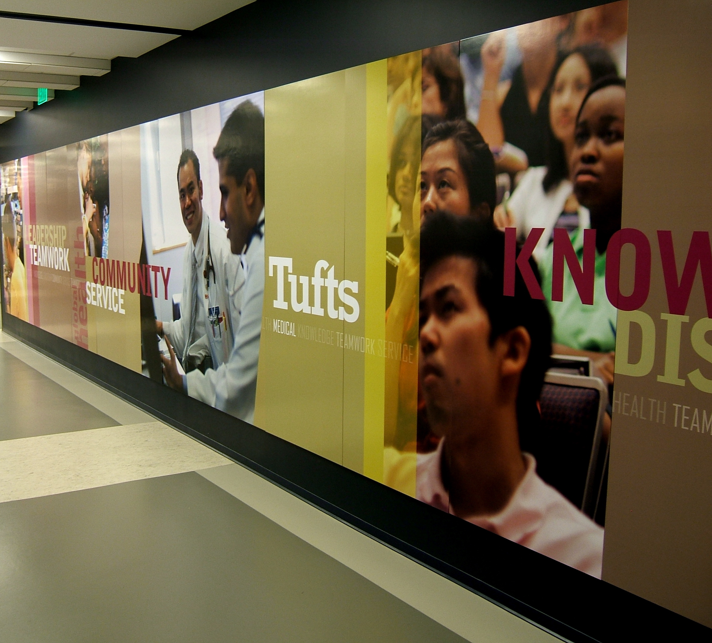 Large format printing icl imaging portfolio for Corporate mural