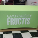 Garnier Fabric Table Drape Printed on PowerStretch