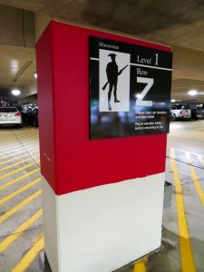 Parking Sign printed by ICL Imaging for Design Communicaitons