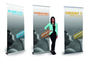 Variety of Retractable Banner Stands