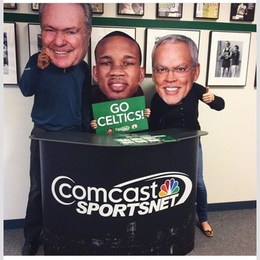 Comcast BigHeads cut outs by ICL Imaging