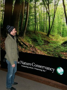 Wallcovering for The Nature Conservancy
