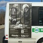 Vehicle Graphic for the Metro West Transit shuttles