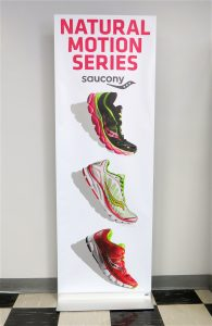 Saucony Shoes on Panel Base