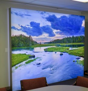 Wall Coverings printed and installed by ICL Imaging