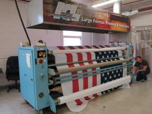 Dye Sublimated Fabric Transfer