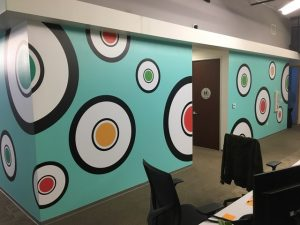 Large Format Wall Coverings printed and installed by ICL Imaging