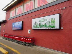Outdoor backlit Signs. Printing by ICL Imaging