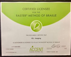 ADA Signage certification - ICL Imaging