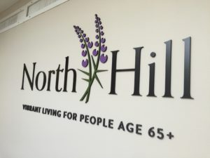 3D Letters & Logo by ICL Imaging for North Hill Lobby