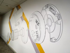 Wallpaper Mural for Corporate Environment