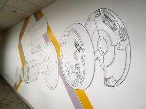 Wallpaper Mural for Corporate Environment