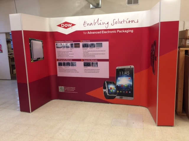 magnetic pop-up banner stand by ICL Imaging