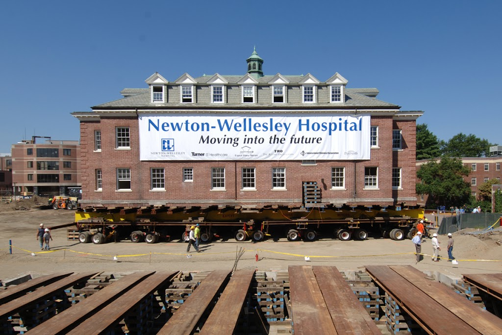 Newton-Wellesley Hospital Moving Banner printed by ICL Imaging, Large Format Printing & Solutions near Boston, MA
