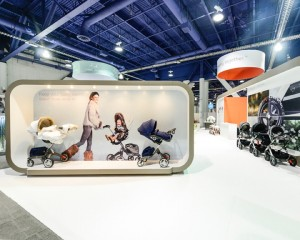 Orion RED Trade Show Exhibit. Graphics by ICL Imaging