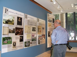 Puritans and Witches Museum Exhibit printed by ICL Imaging
