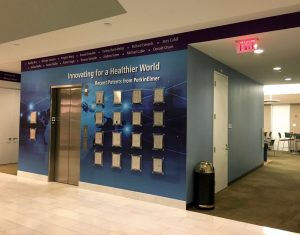 Perkin Elmer Waltham, Custom Wall Coverings by ICL Imaging
