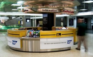 SAP Counter Information Effective Wayfinding Signage