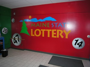 Environment Graphics Maine State Lottery Wall Mural