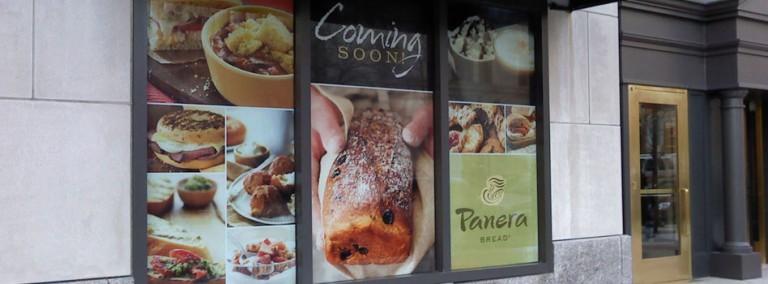 Panera Bread Window Graphics