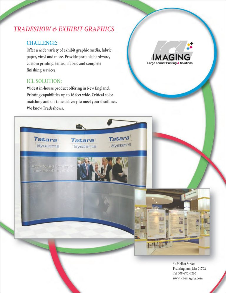 Tradeshow & Exhibit Graphics
