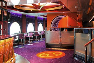 Environmental Graphics. Printed Acoustical Wall Coverings For Cruise LIner