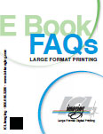 E BOOK FAQ's Large Format Printing