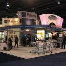 Back-lit trade show graphic for Palomar