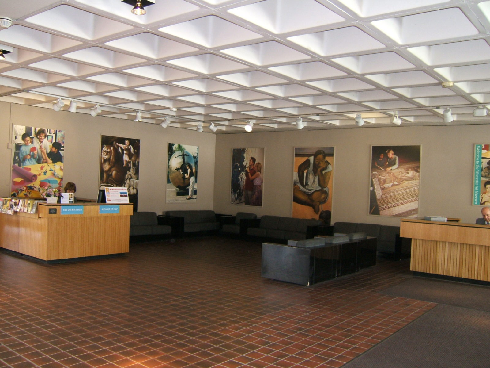 Corporate interiors wall murals lobby graphics for Corporate mural