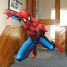 Event Graphic Spiderman Cut-Out