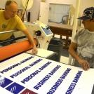 Mounting Large Format Printing