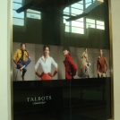 Retail Window Graphics for Talbots