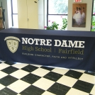Notre Dame Fitted Table Drape
