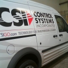 CSR Transit Vehicle Wrap