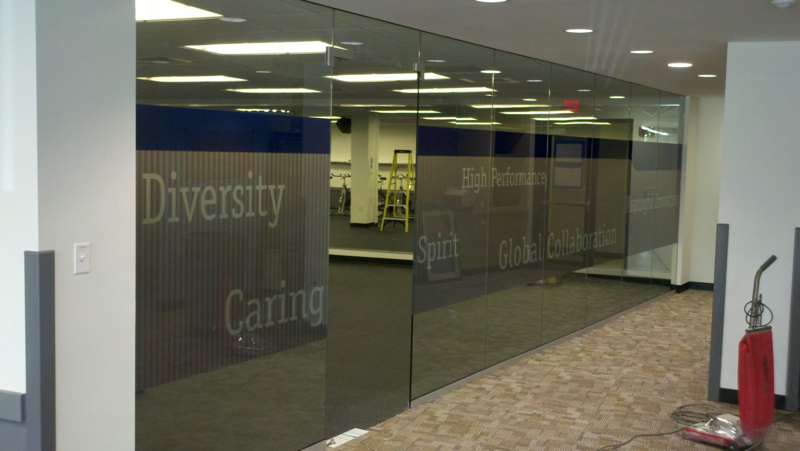 Custom window clings and window graphics adhesive free installation