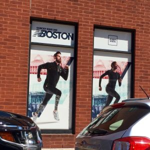 New Balance Window Graphics printed and Installed by ICL Imaging